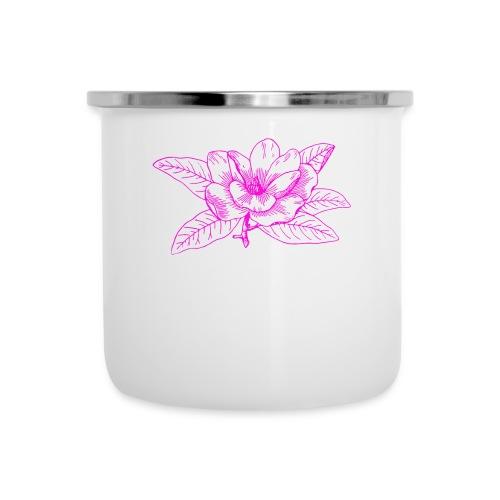 Camisetas y accesorios de flor color rosada - Taza esmaltada