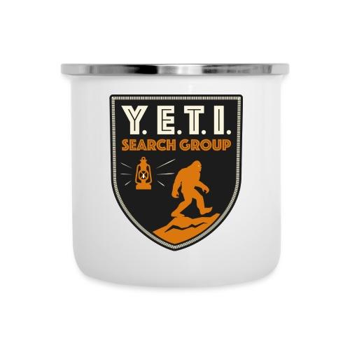 Blason Yeti Search Group - Tasse émaillée