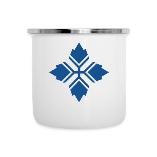 Konty logo sininen - Emalimuki