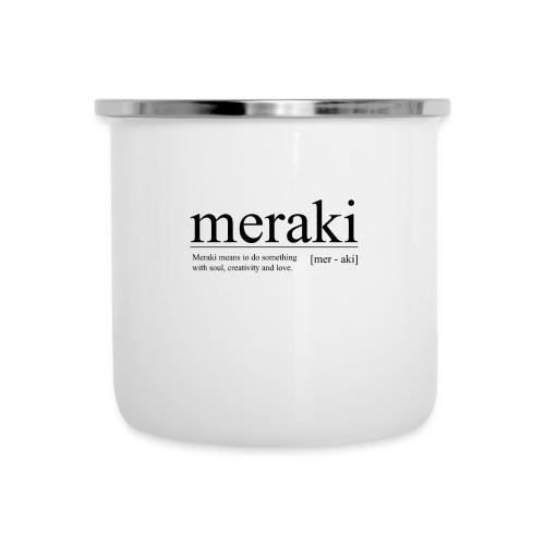 Meraki - Emaille-Tasse