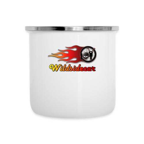 logo wildsidecar sans fond - Tasse émaillée