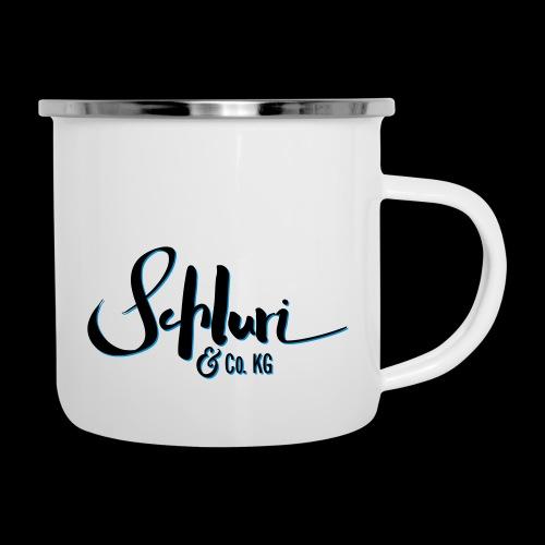 Schluri - Emaille-Tasse