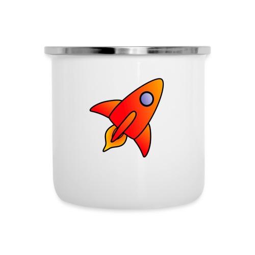 Red Rocket - Camper Mug