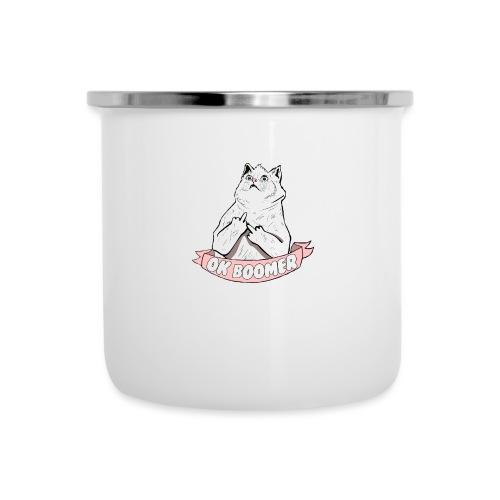 OK Boomer Cat Meme - Camper Mug