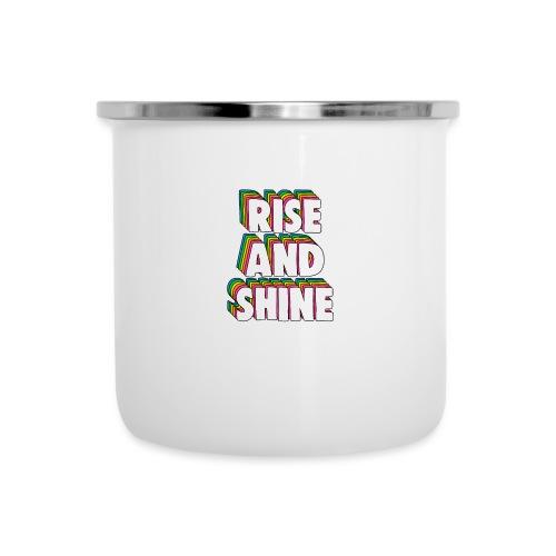 Rise and Shine Meme - Camper Mug