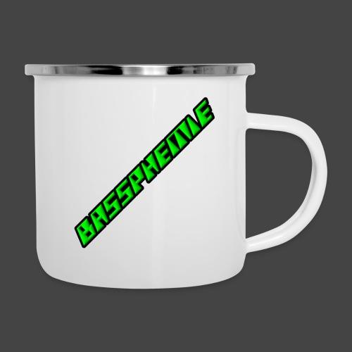 Bassphemie - Neongrün - Emaille-Tasse
