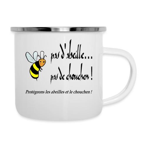 Pas d'abeille, pas de chouchen - Tasse émaillée