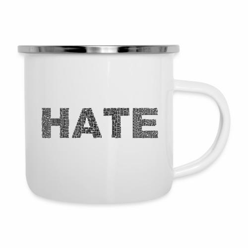 Hate - Kubek emaliowany