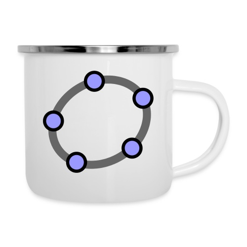 GeoGebra Ellipse - Camper Mug