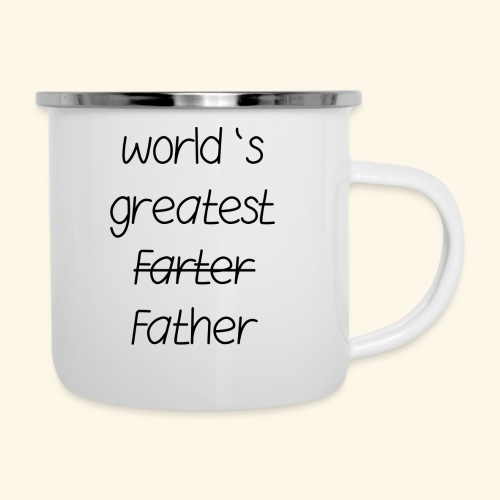 World's greatest Father - Emaille-Tasse