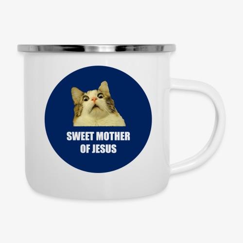 SWEETMOTHEROFJESUS - Camper Mug