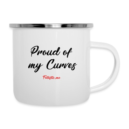Proud of my Curves by Fatastic.me - Camper Mug