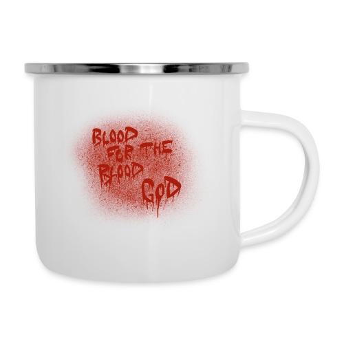 Blood For The Blood God - Camper Mug