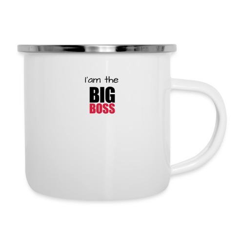 I am the big boss - Tasse émaillée