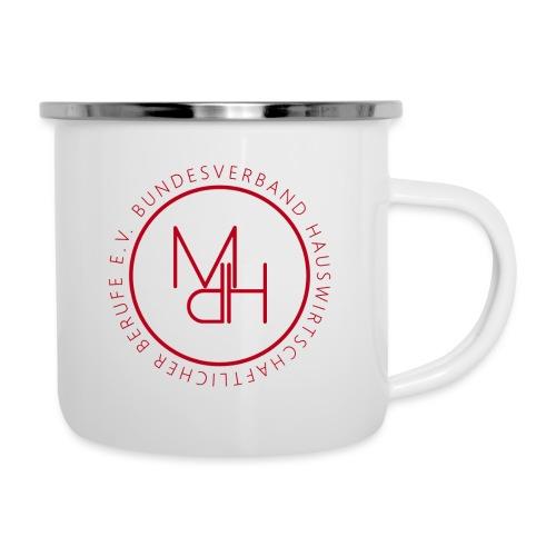 MdH-Siegel - Emaille-Tasse