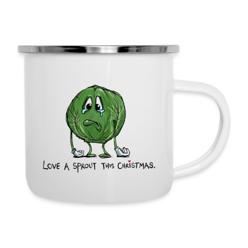 Christmas Sprout funny vegetable jumper - Tazza smaltata