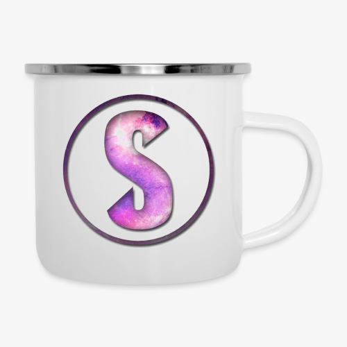 YouTube Logo von Salxphaa - Emaille-Tasse