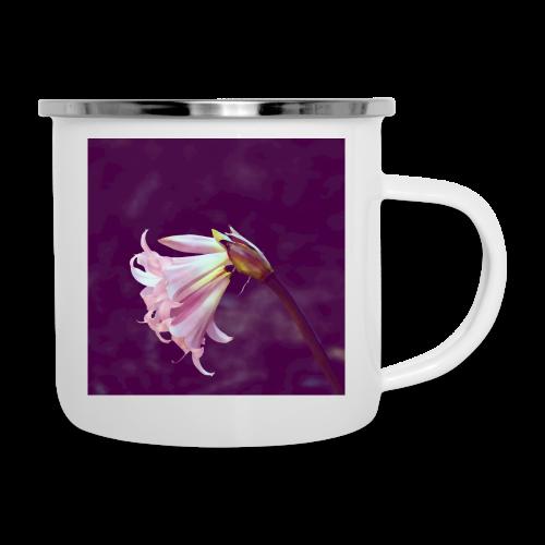 Flower At Night Watercolor Minimalism - Camper Mug