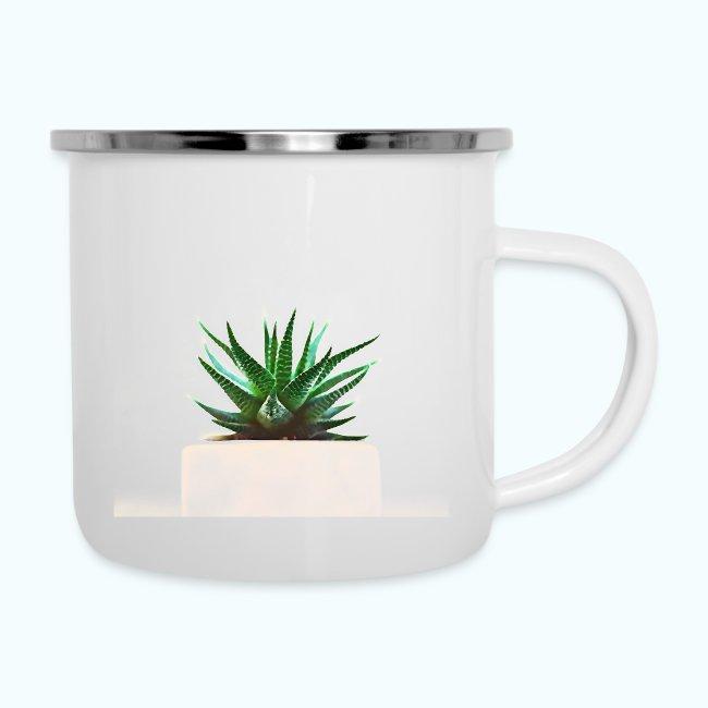 Simple plant minimalism watercolor