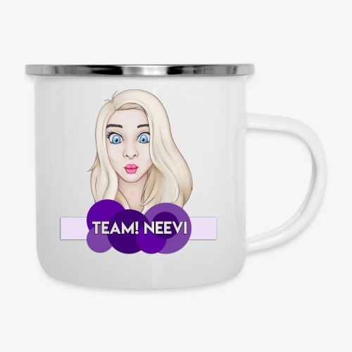 Team! Design - Emaille-Tasse