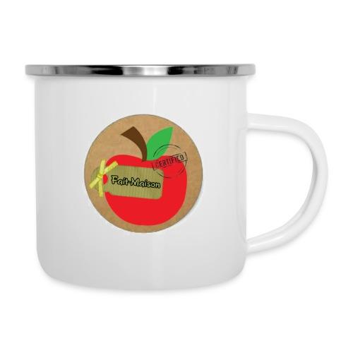 pomme - Tasse émaillée