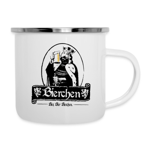 Bierchen - Emaille-Tasse