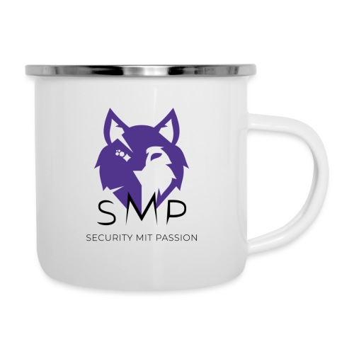 SMP Wolves Merchandise - Emaille-Tasse