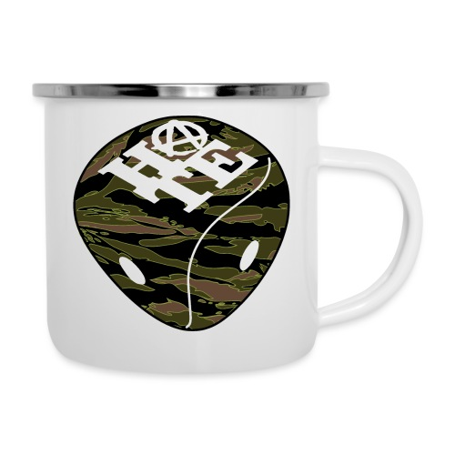 HATE Tiger - Camper Mug