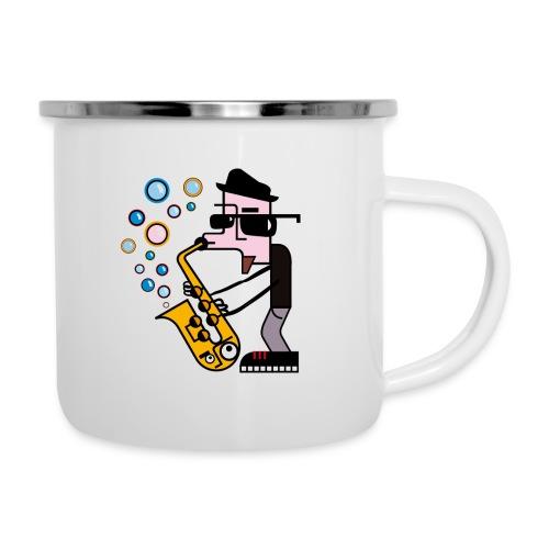Music 6 - Tazza smaltata
