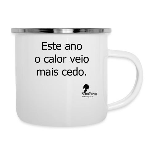 esteanoocalorveiomaiscedo - Camper Mug