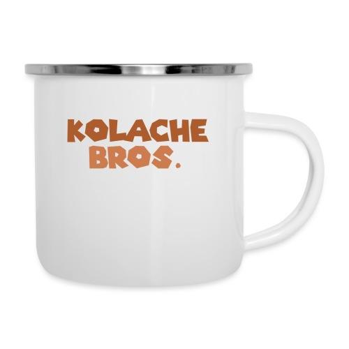 Kolache Bros. Logo Cap - Emaille-Tasse