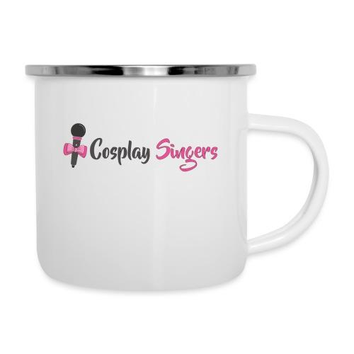 Logo Cosplay Singers - Tazza smaltata