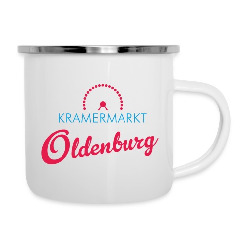 Kramermarkt Oldenburg - Emaille-Tasse