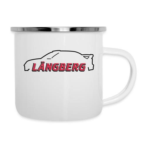 logotype Laengberg - Emaljmugg