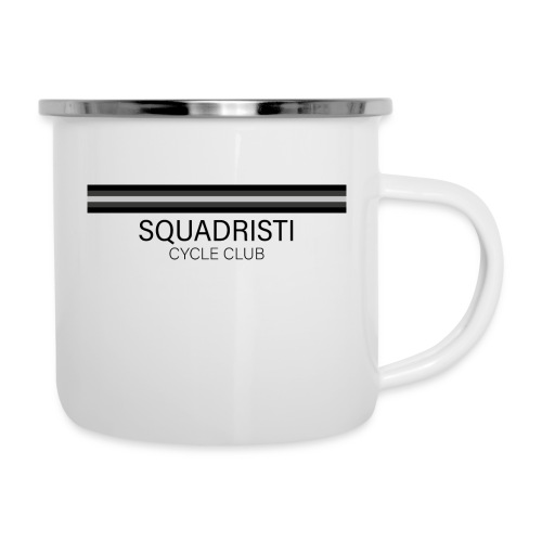 Squadristi Cycle Club - Emaille-Tasse