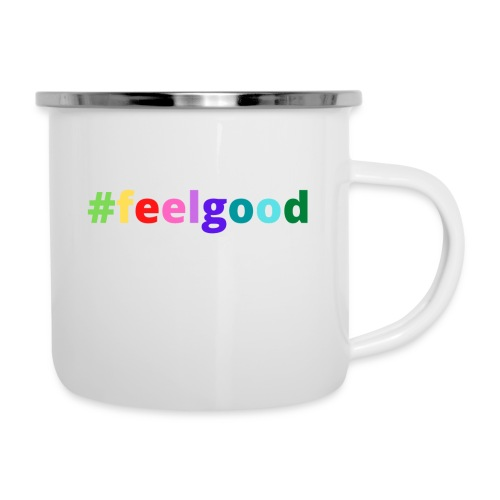 #feelgood - Emaille-Tasse