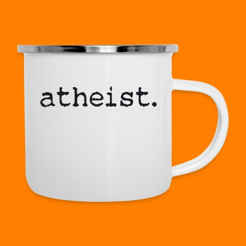atheist BLACK - Camper Mug