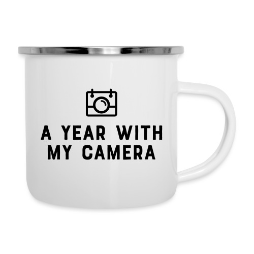Charcoal AYWMC logo & text stacked - Camper Mug