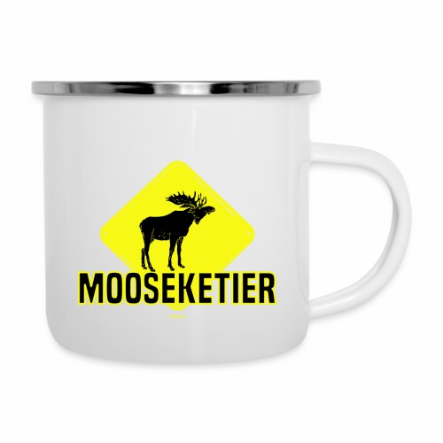 Moosketier - Emaille mok