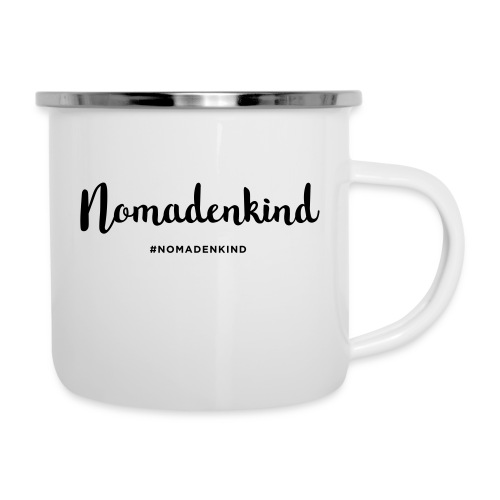 Nomadenkind by Solonomade - Emaille-Tasse