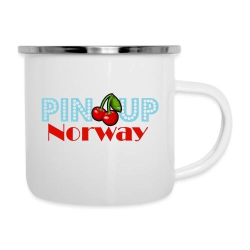 Pinup Norway Fan Club - Emaljekopp