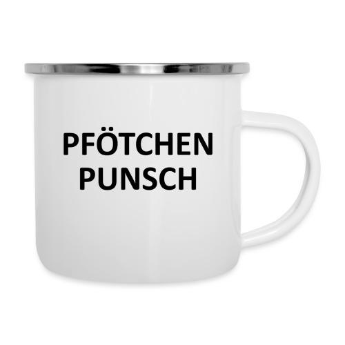 Pfötschenpunschhäferl - Emaille-Tasse
