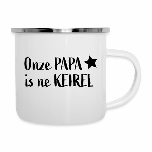 Papa Keirel - Emaille mok