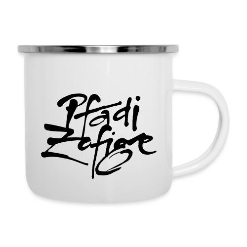 pfadi zofige - Emaille-Tasse