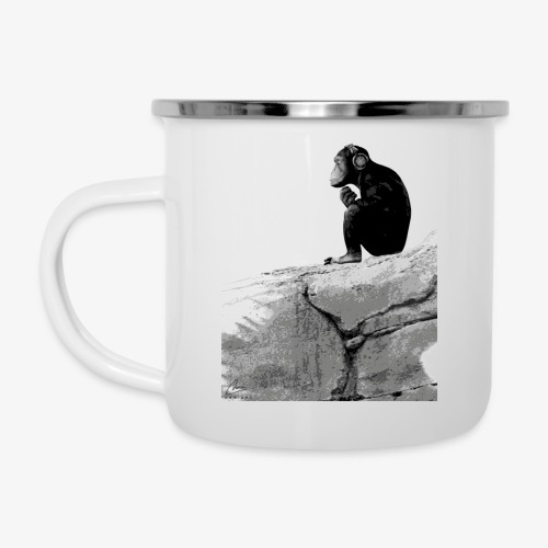 Music Monkey - Camper Mug