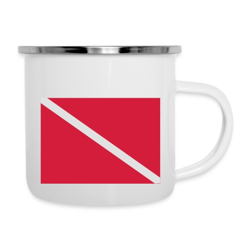 Diver Flag - Camper Mug