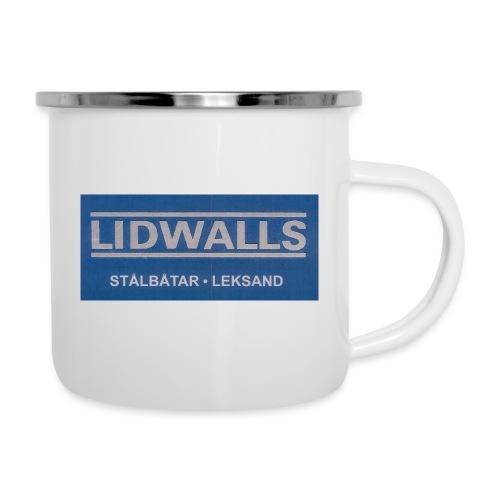 Lidwalls Stålbåtar - Emaljmugg