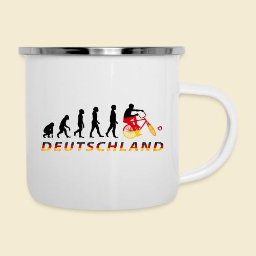Radball | Evolution Deutschland - Emaille-Tasse