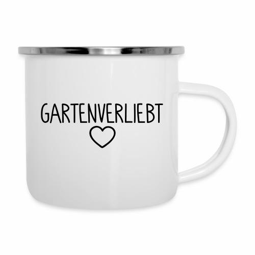 Gartenverliebt - Emaille-Tasse