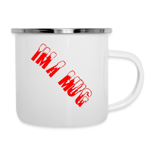 Im A Mug - Emaljekrus